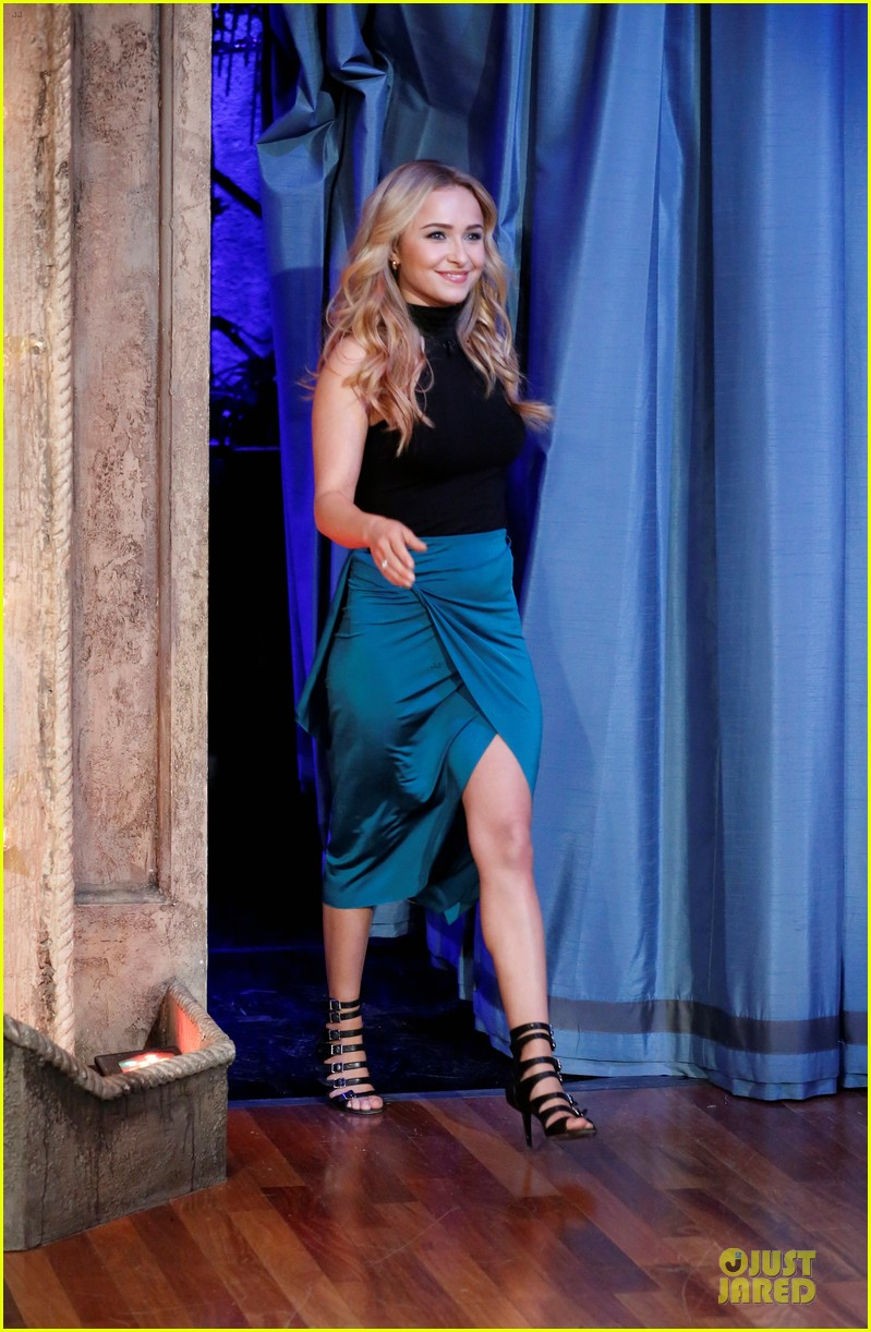 hayden panettiere nashville promotion on fallon 012831478