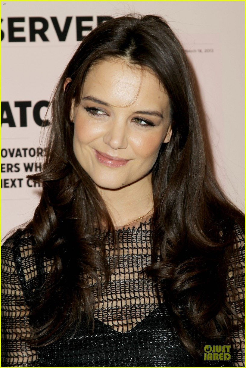 katie holmes new york observer anniversary party 13