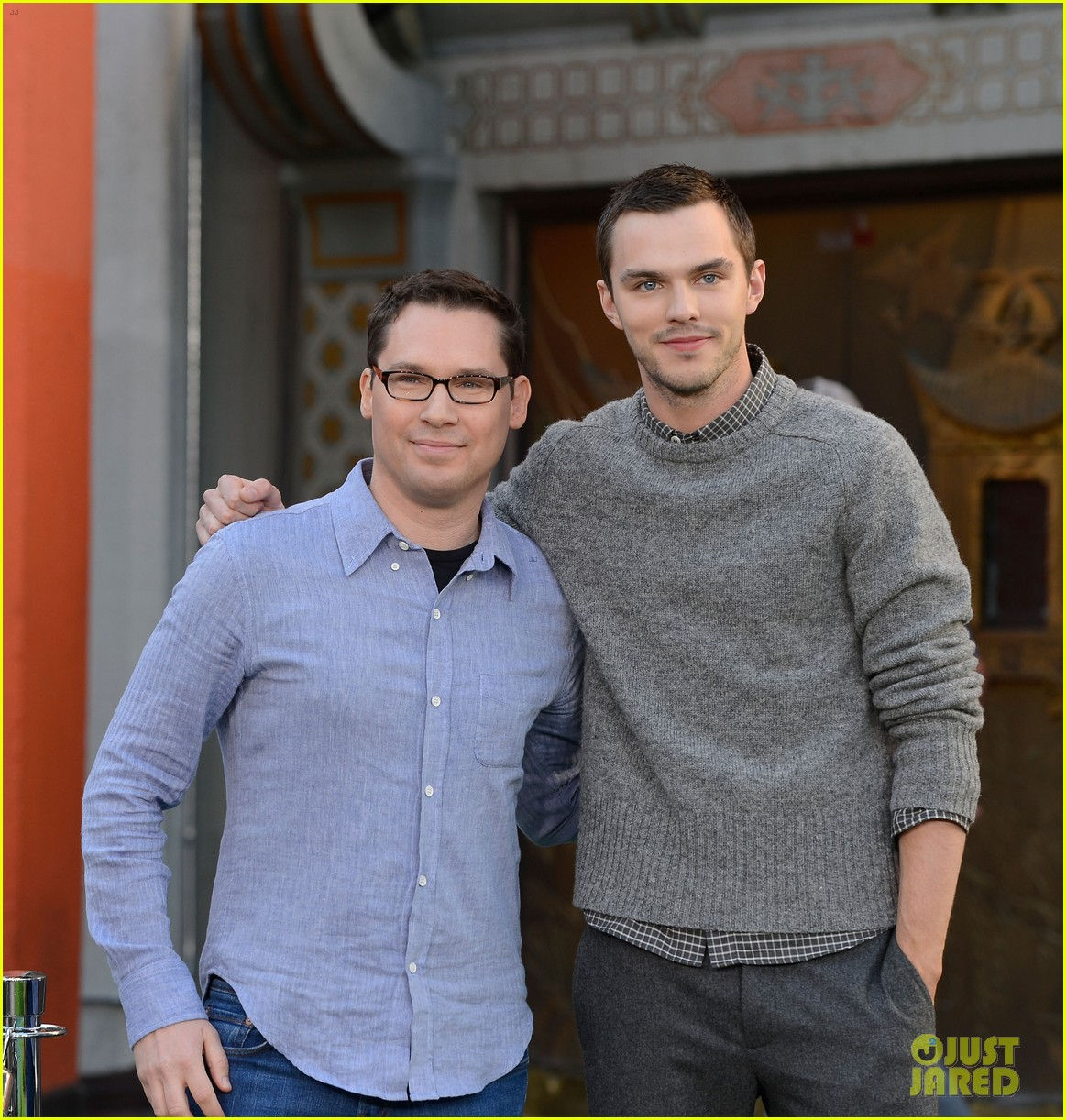 nicholas hoult jack the giant slayer footprint unveiling 042822718