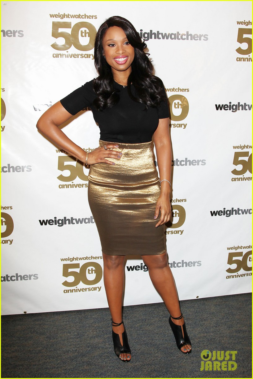 jennifer hudson weight watchers 50th anniversary 12
