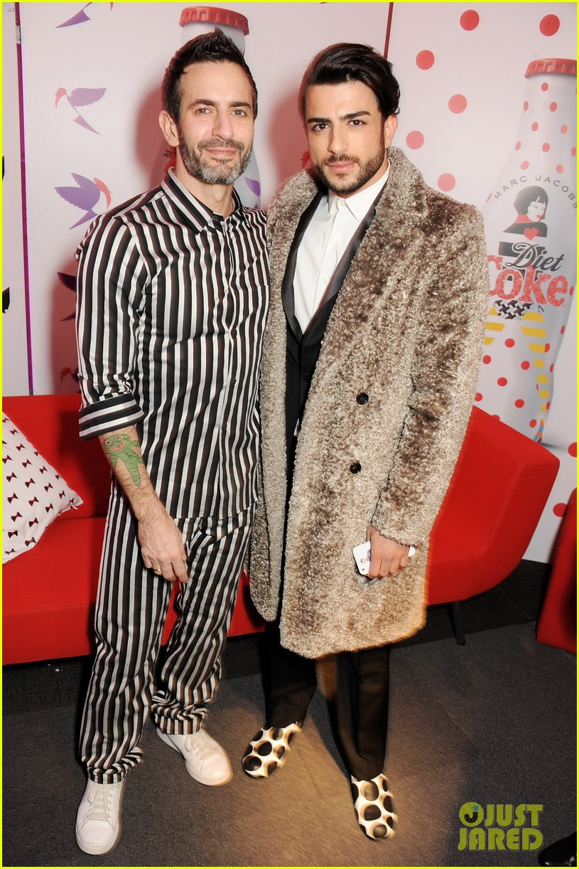 marc jacobs diet coke launch party with harry louis 01