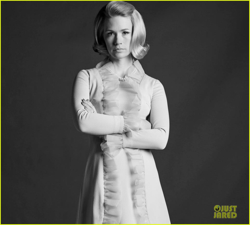 january jones jon hamm mad men season 6 cast portraits 082838001
