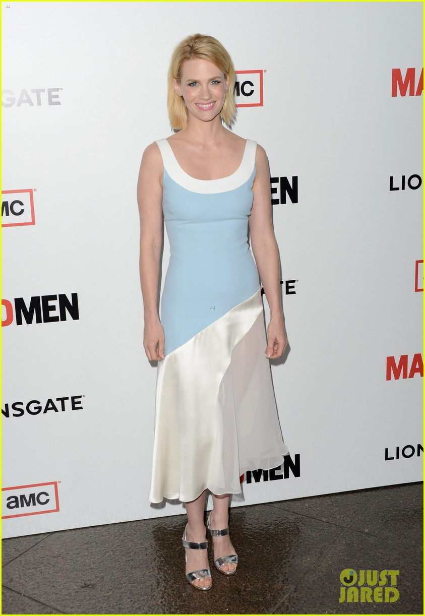 january jones alison brie mad men season 6 premiere 01