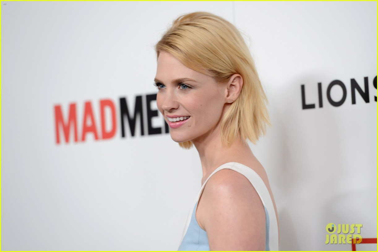 january jones alison brie mad men season 6 premiere 06