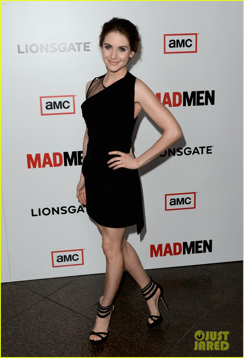 january jones alison brie mad men season 6 premiere 10