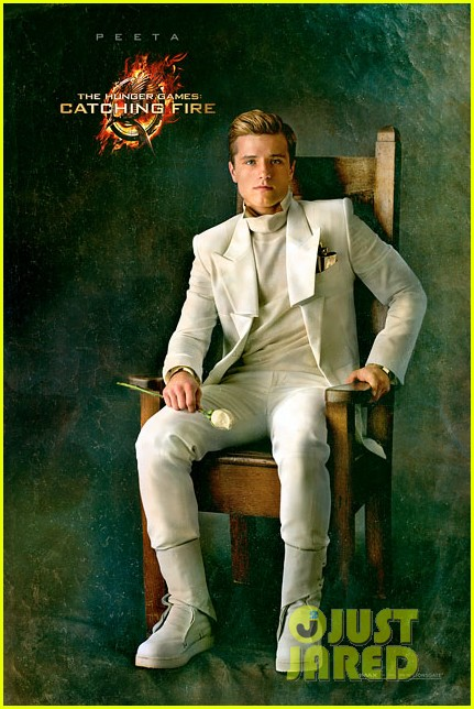 josh hutcherson hunger games catching fire peeta portrait 01