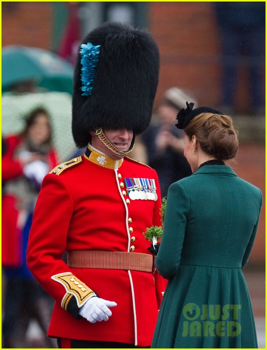 kate middleton pregnant st patricks day with prince william 05