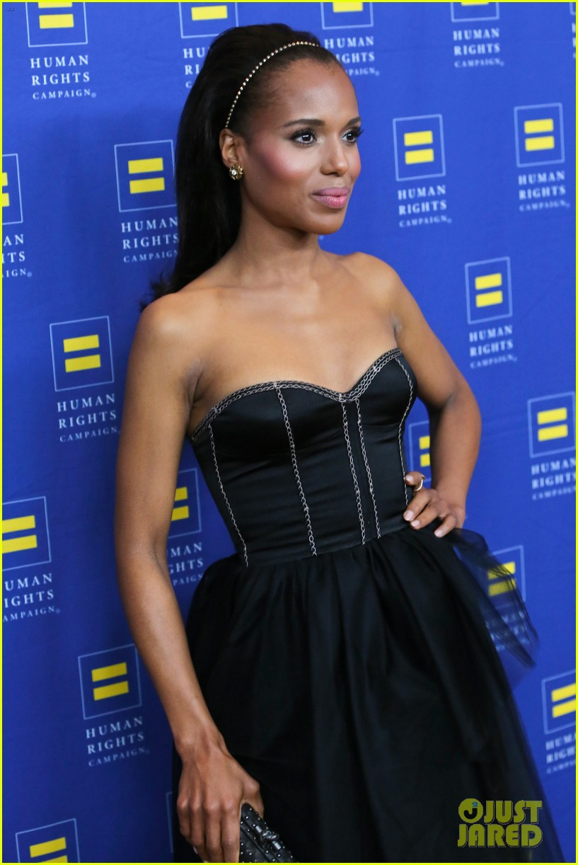 kerry washington lance bass human rights campaign gala 2013 11