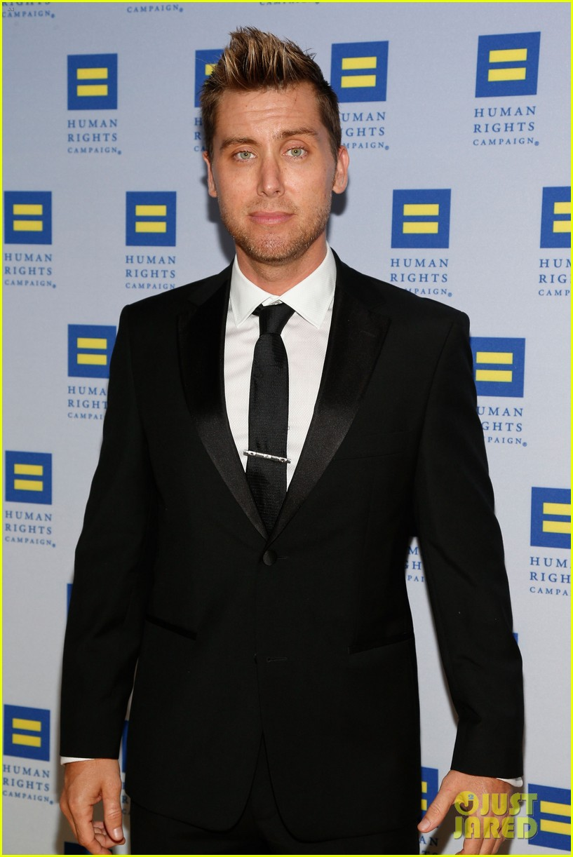 kerry washington lance bass human rights campaign gala 2013 192836953
