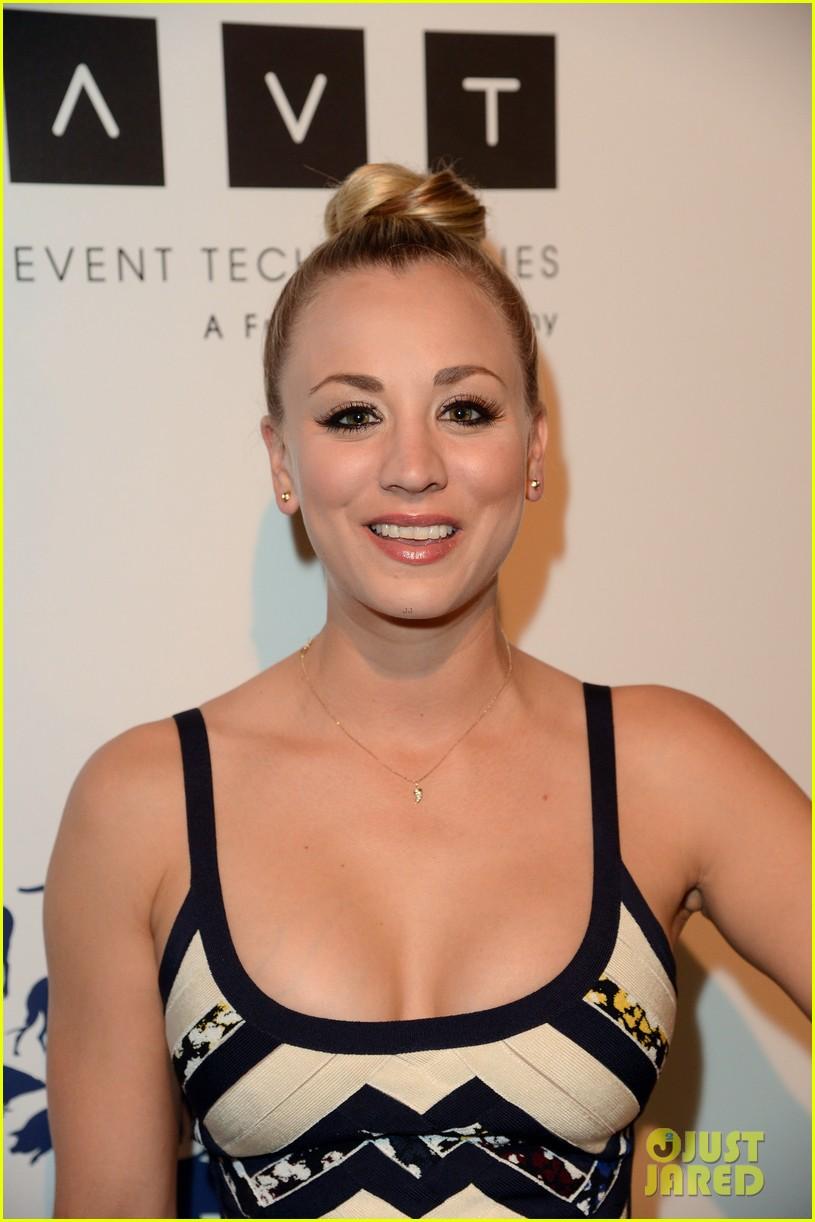 kesha kaley cuoco genesis awards gala 2013 16