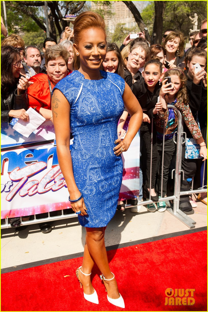 heidi klum mel b americas got talent texas auditions 012834725