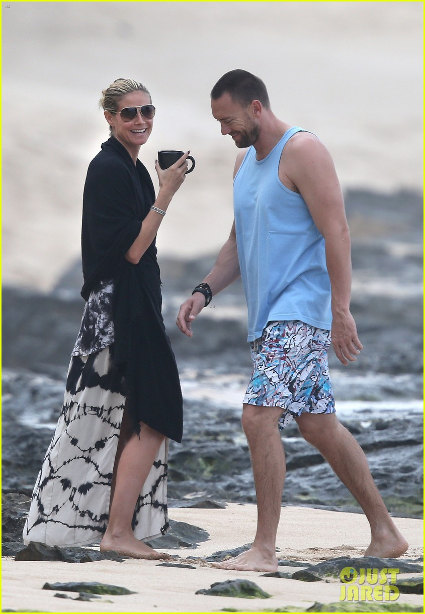 heidi klum martin kirsten hawaii beach day with the family 032838113