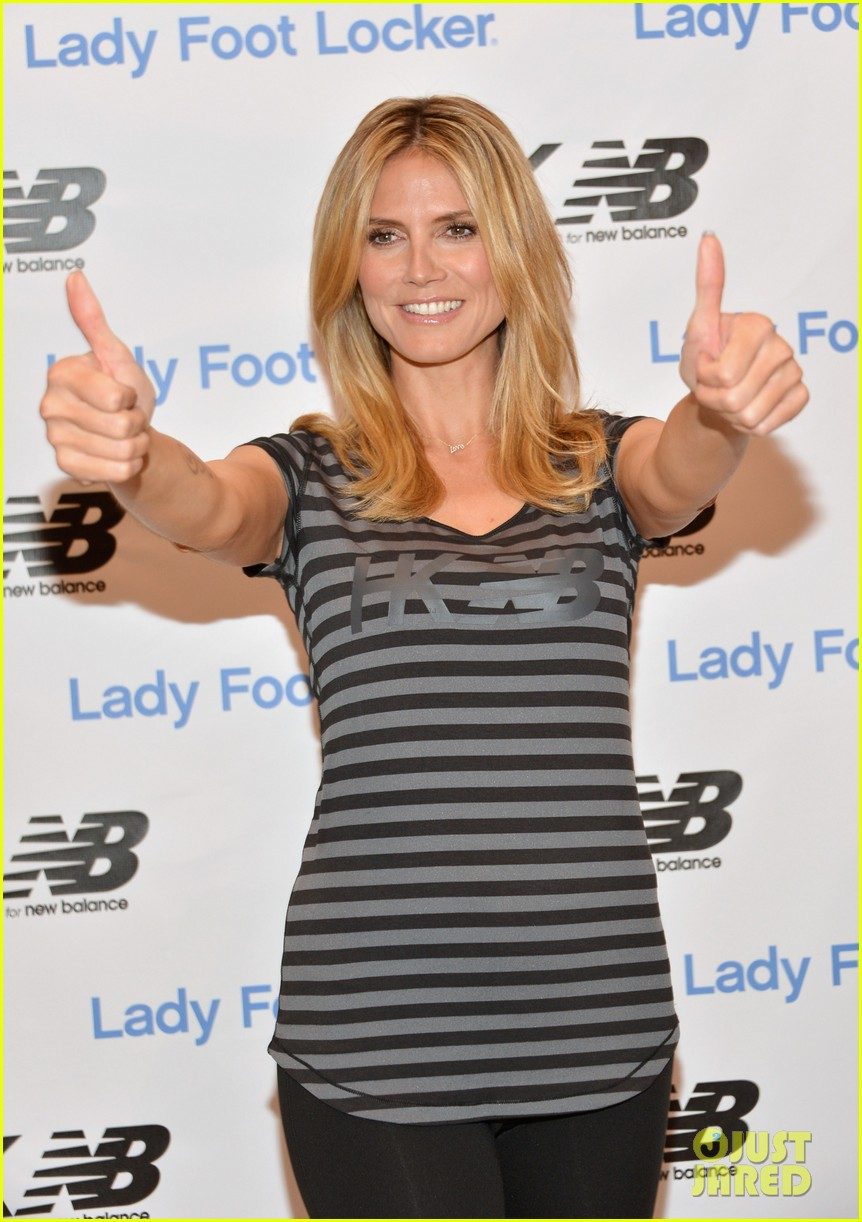 heidi klum new balance collection launch 04