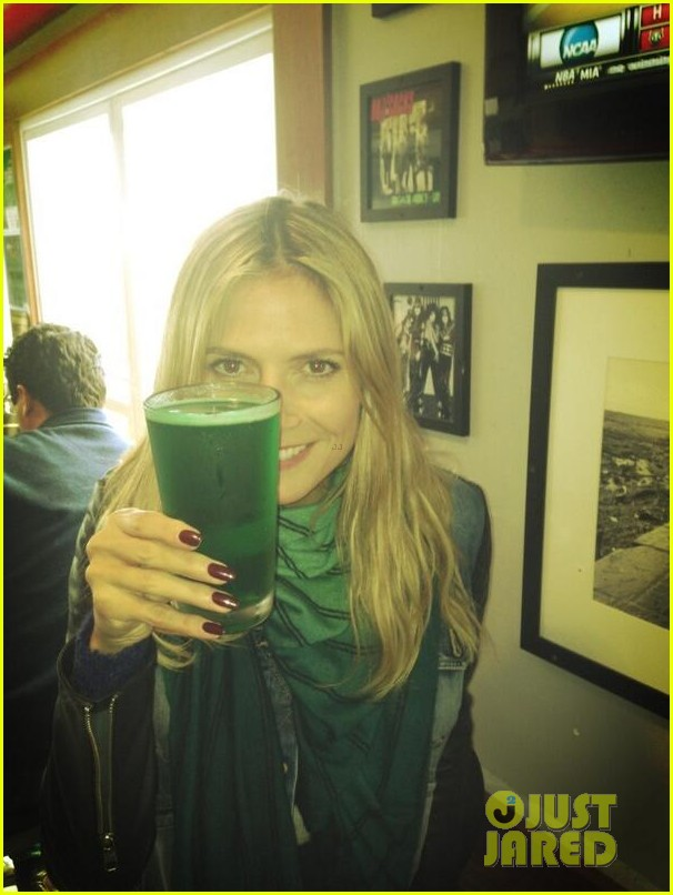 heidi klum happy st paddys day 02