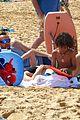 heidi klum martin kirsten beach picnic with the kids 02