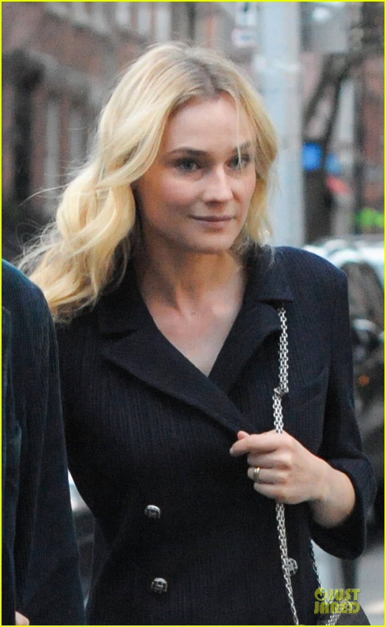 diane kruger joshua jackson west village dinner date 05