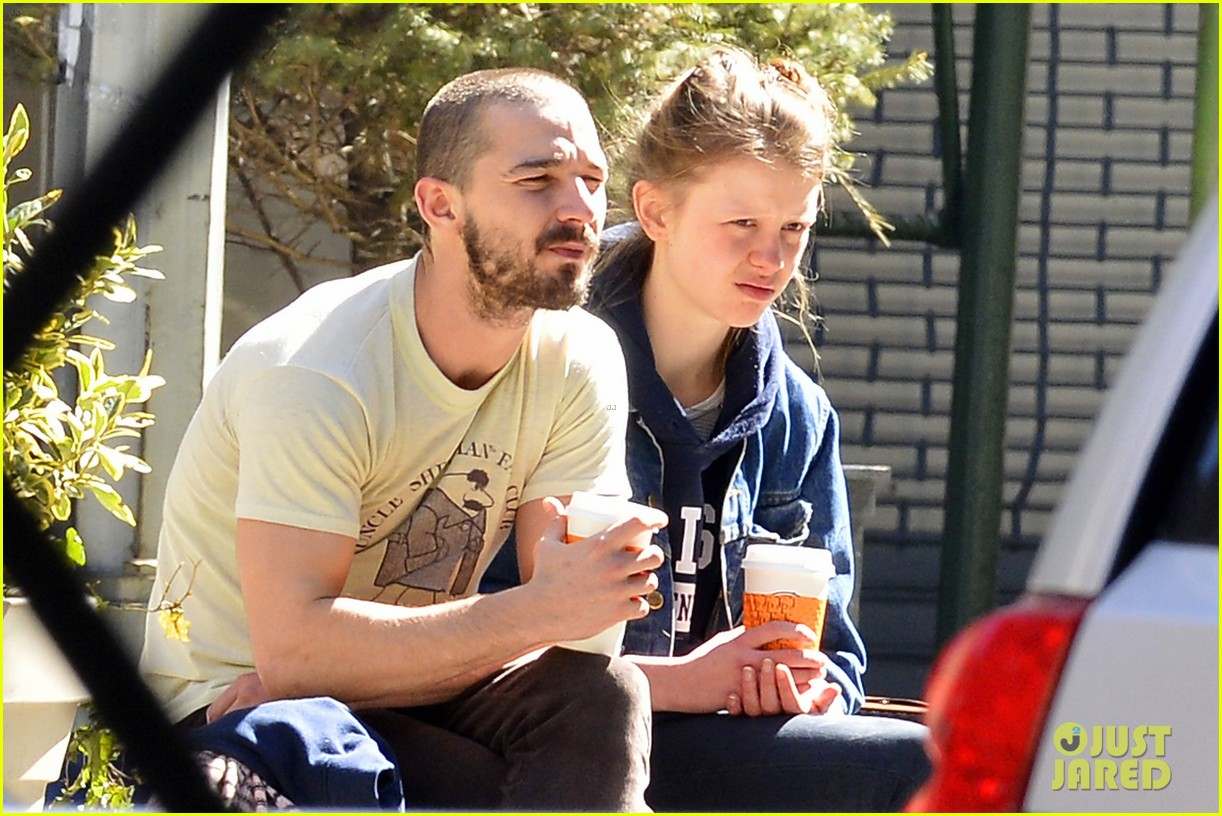 shia labeouf mia goth new york twosome 082828809