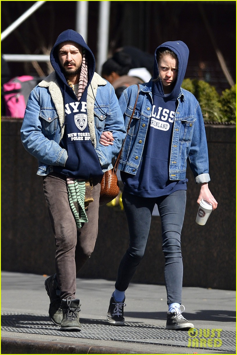 shia labeouf mia goth new york twosome 09