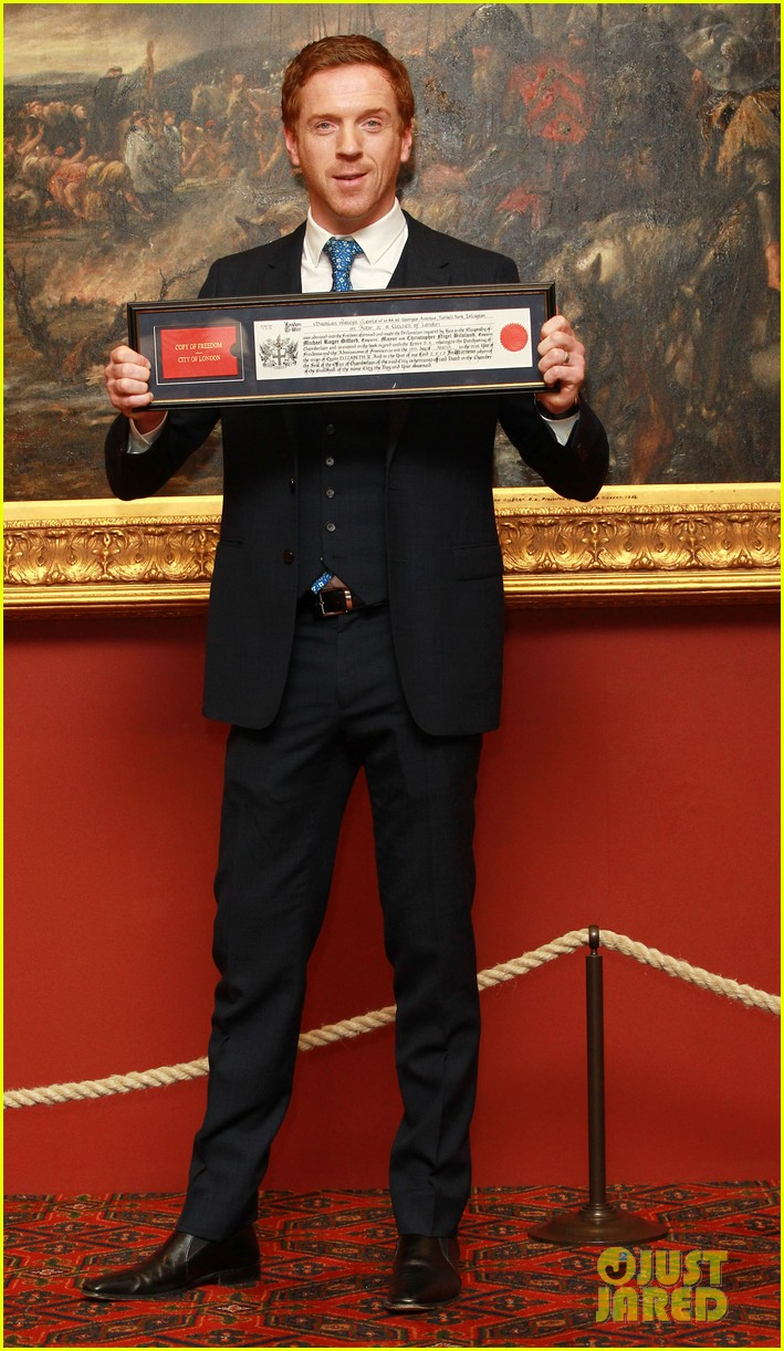 damian lewis freedom of the city of london award recipient 09