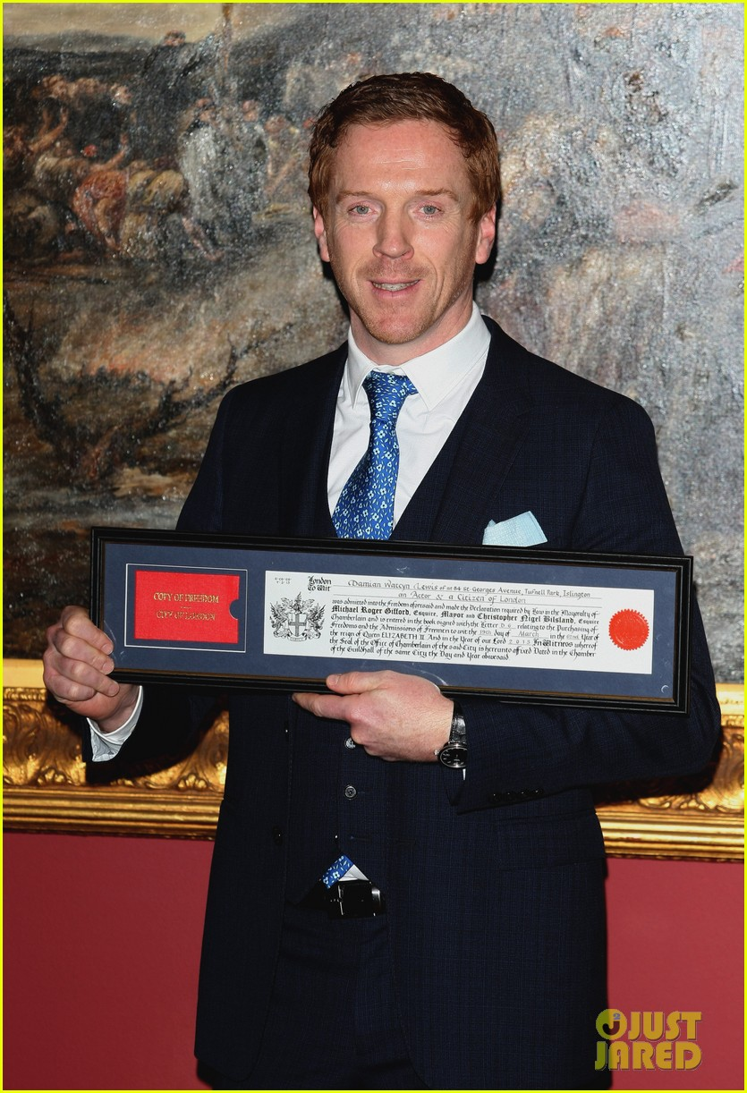 damian lewis freedom of the city of london award recipient 10