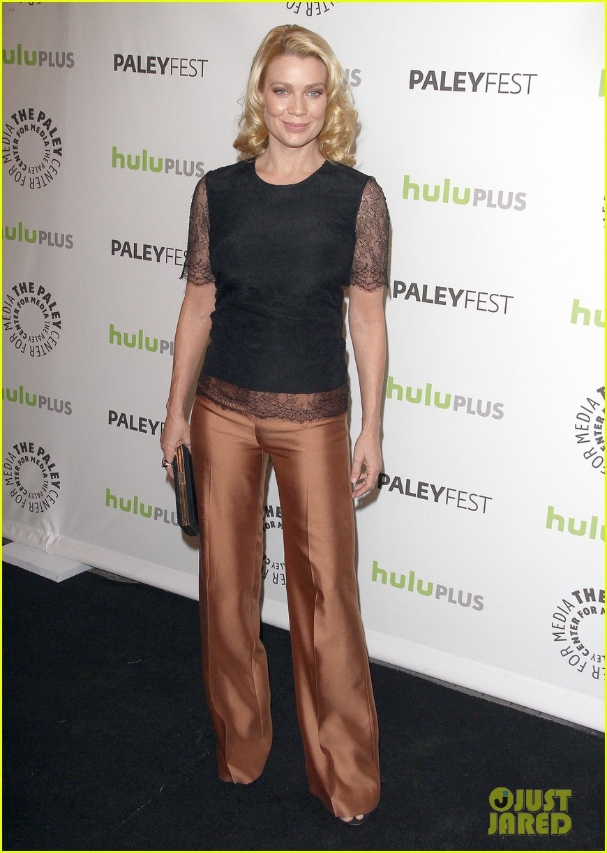andrew lincoln laurie holden walking dead at paleyfest 012823473