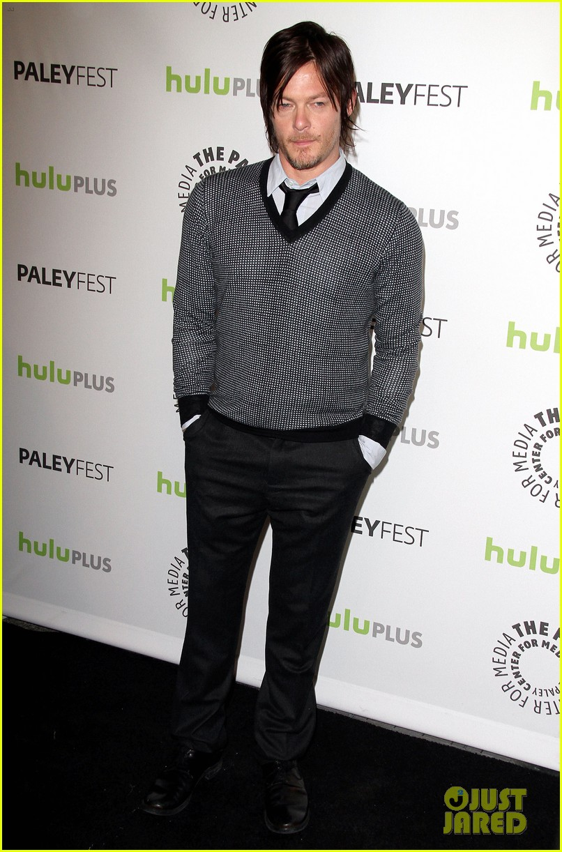 andrew lincoln laurie holden walking dead at paleyfest 15