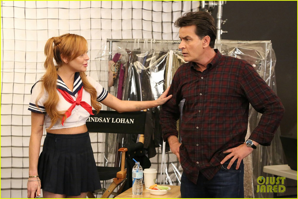 lindsay lohan anger management cameo stills 132839475