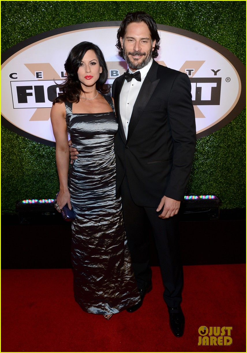joe manganiello celebrity fight night with bridget peters 012836687
