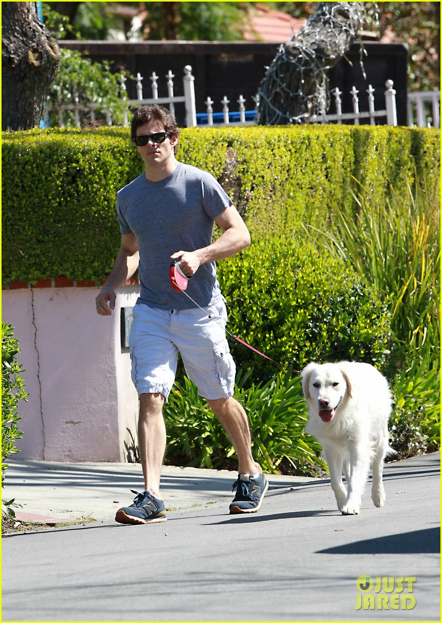 james marsden dog walkin wednesday 03