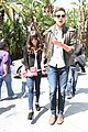 lea michele cory monteith kings game couple 01