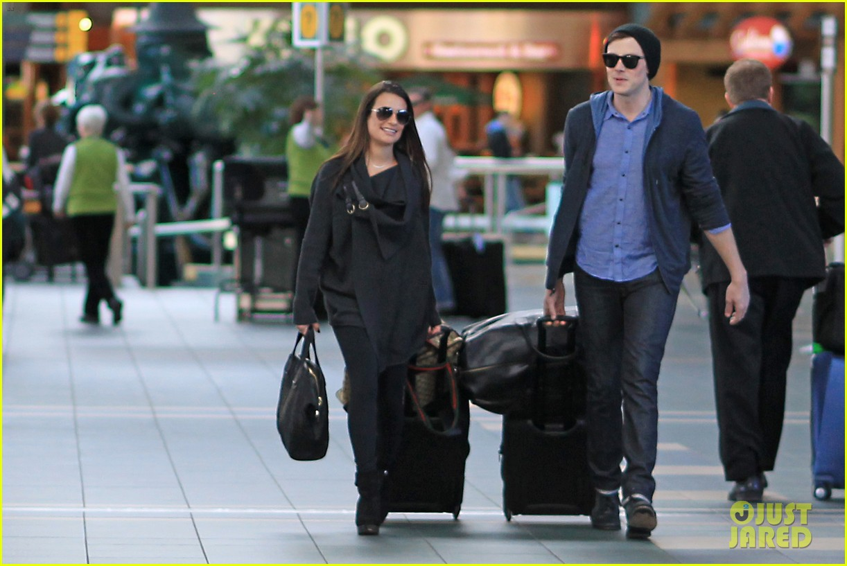 lea michele cory monteith from vancouver to l a 04