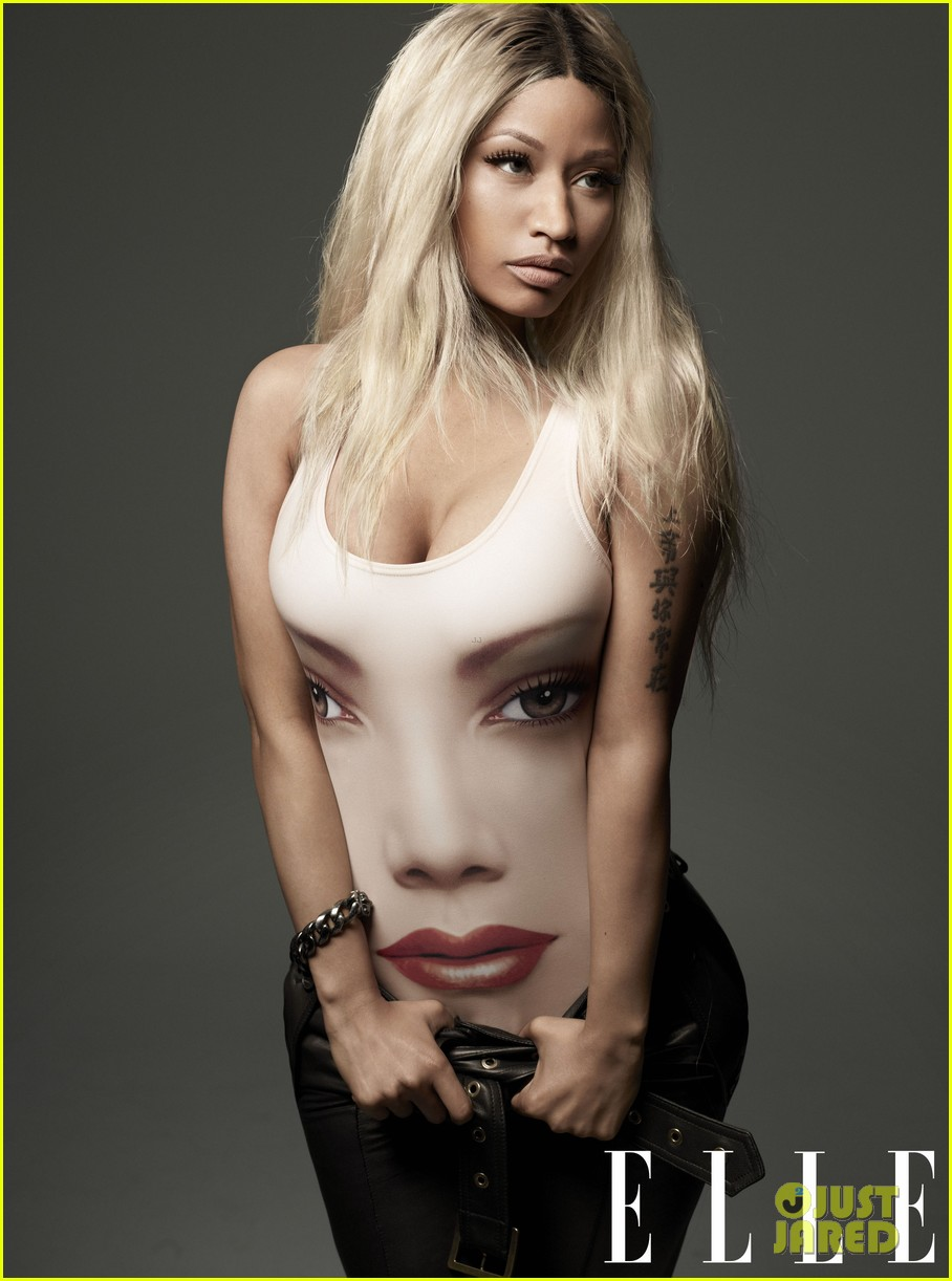Full Sized Photo of nicki minaj covers elle april 2013 03 : Photo ...