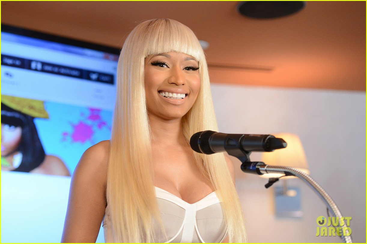 nicki minaj kmart collection event 142823327