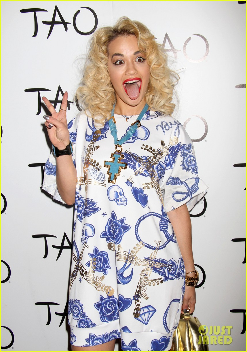 rita ora tao nightclub host 132840902