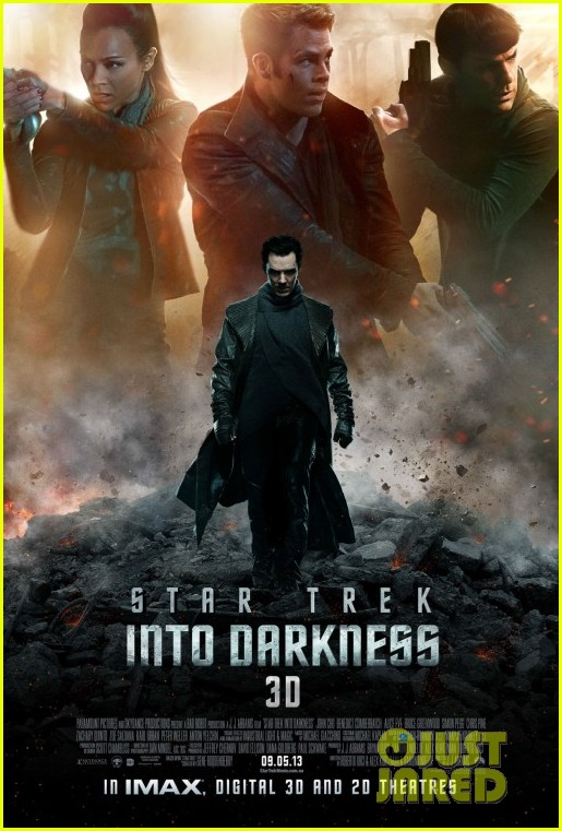 chris pine benedict cumberbatch new star trek poster trailer 01