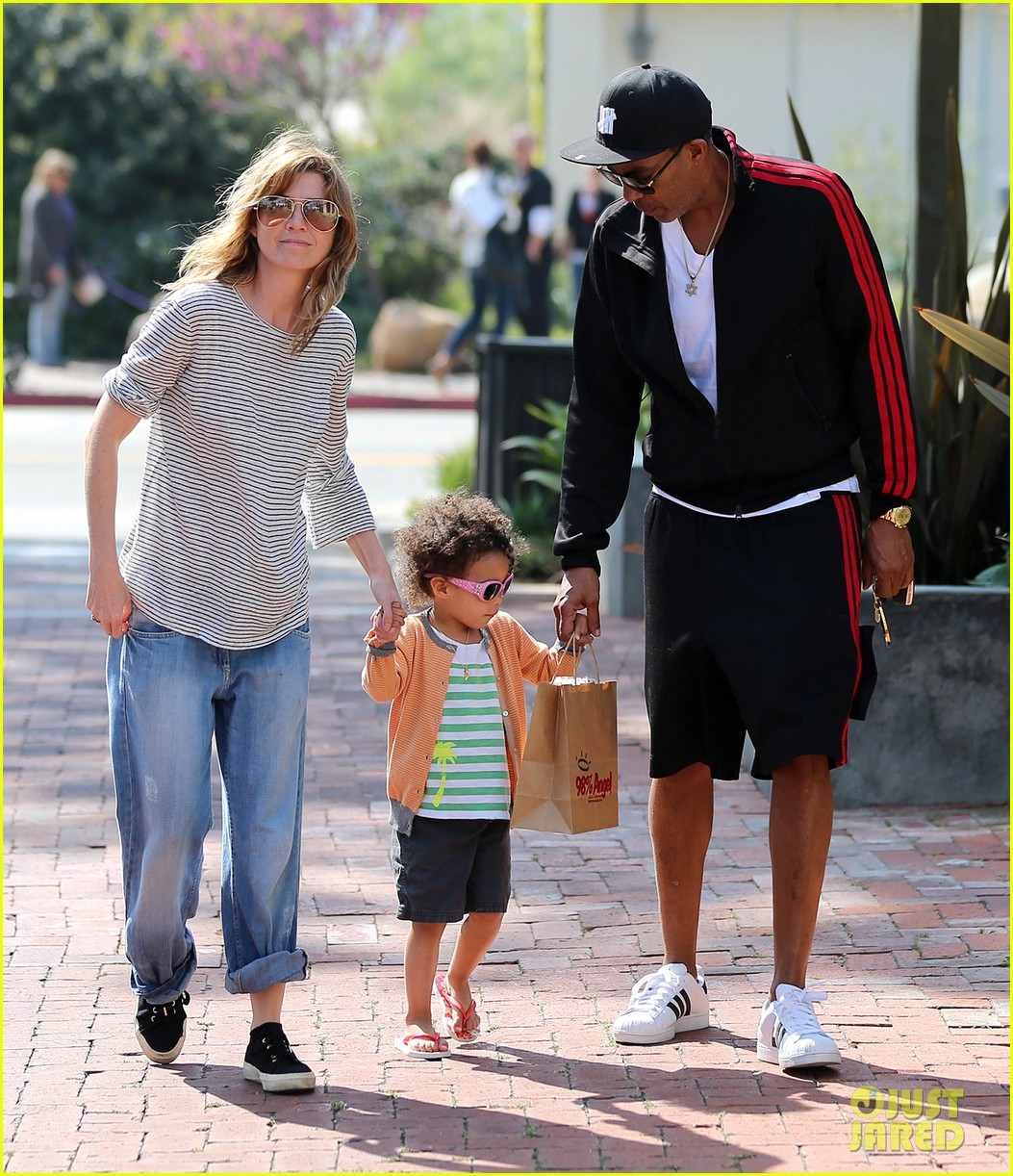 ellen pompeo monkeybars with stella 052837431
