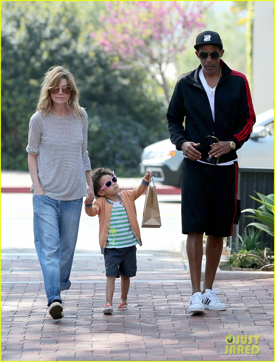 ellen pompeo monkeybars with stella 132837439