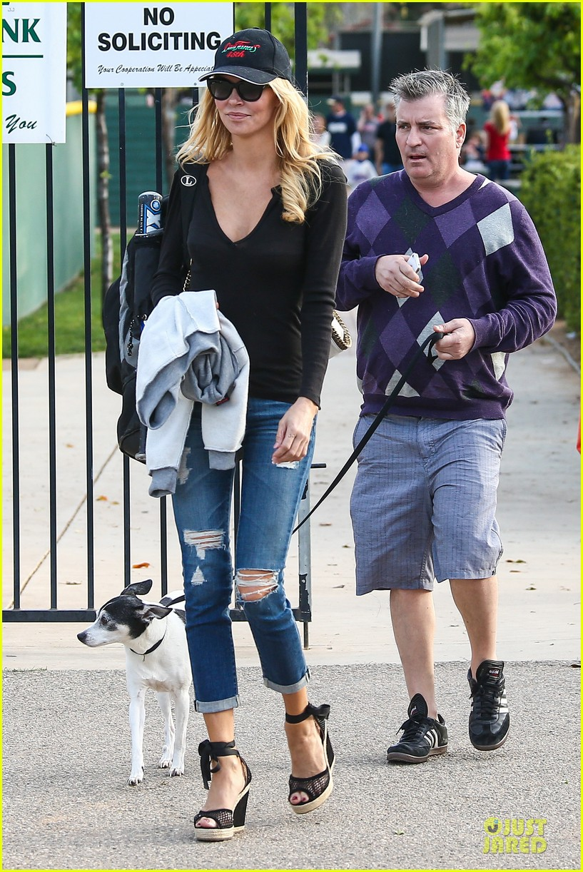 leann rimes eddie cibrian jake baseball game with brandi glanville 03