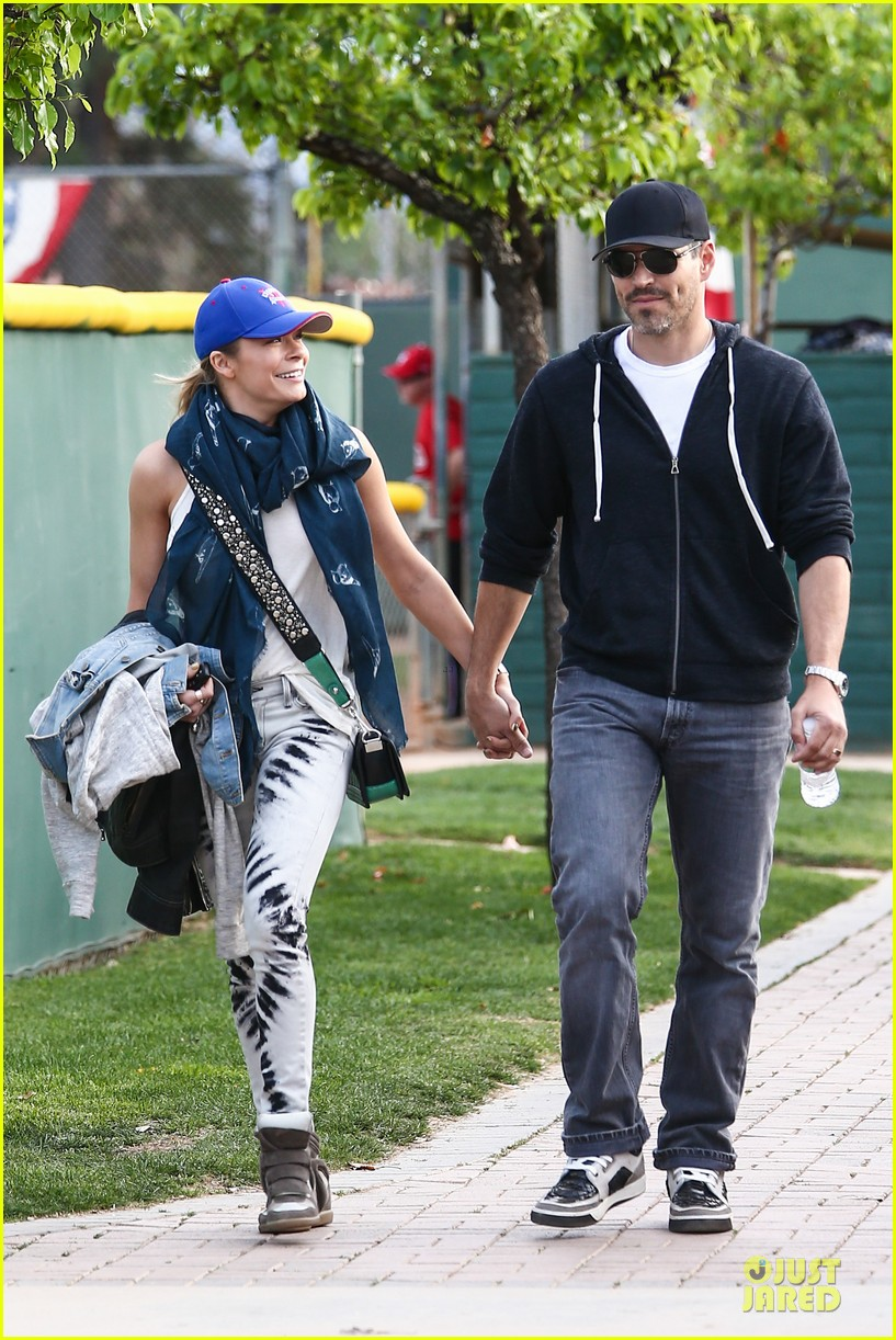 leann rimes eddie cibrian jake baseball game with brandi glanville 28