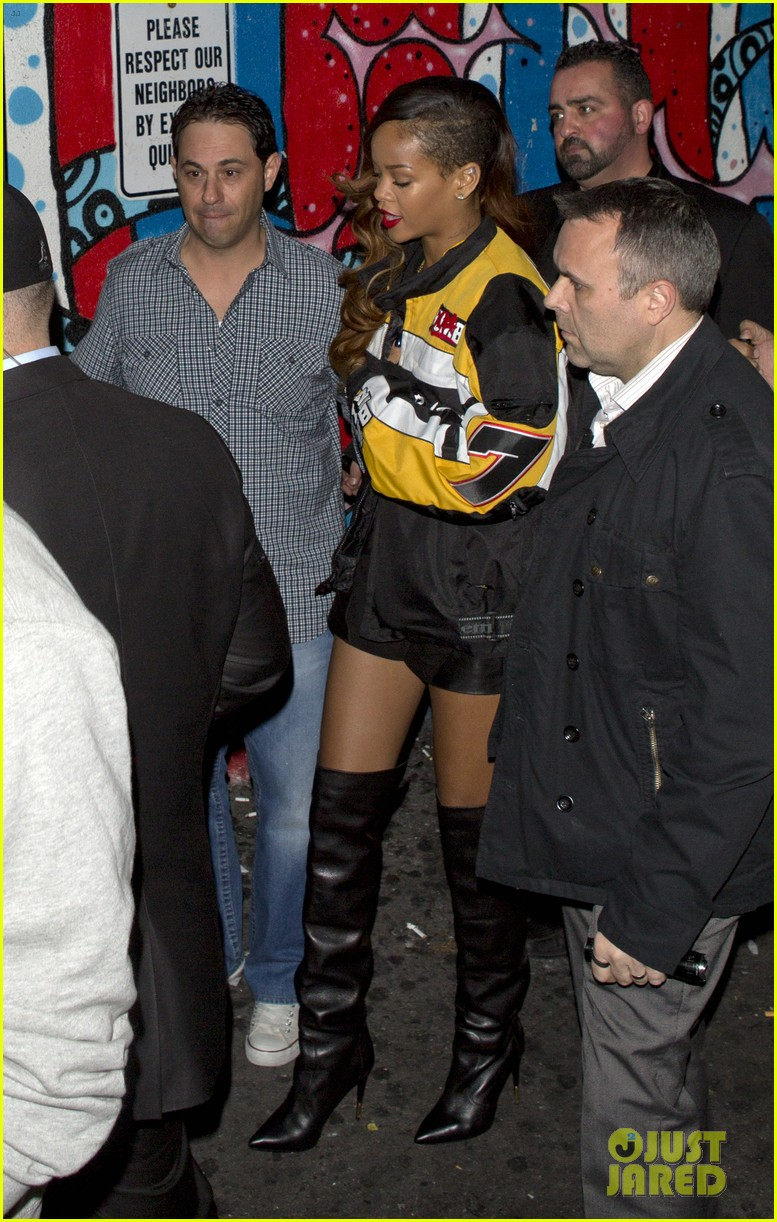 rihanna playhouse night out 01
