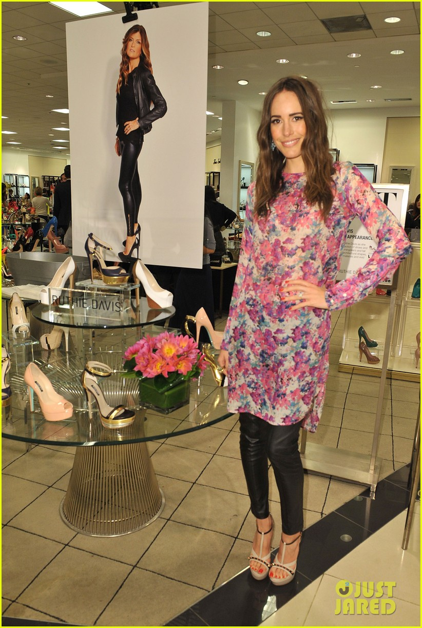 louise roe ruthie davis collection launch 062837489