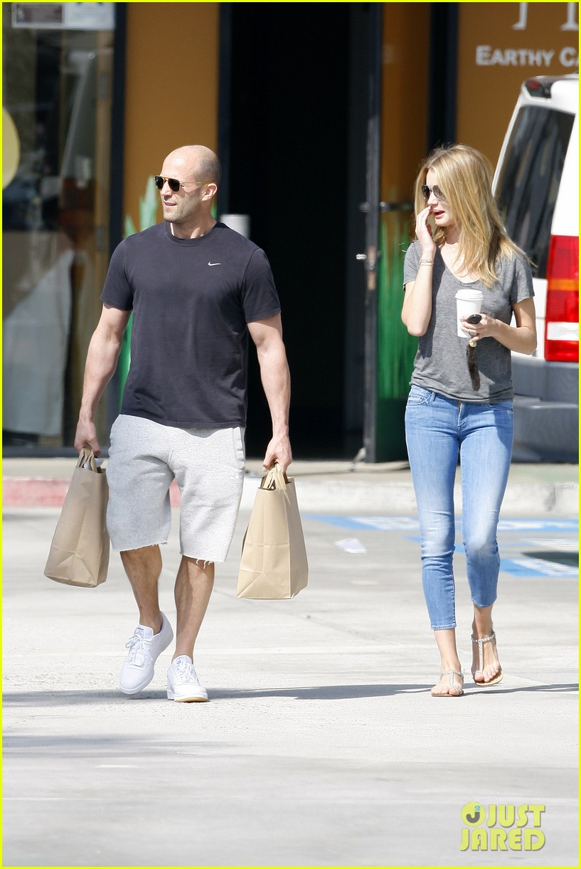 rosie huntington whiteley jason statham breakfast duo 132837615