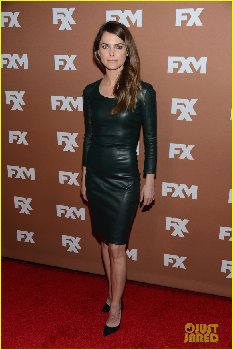 keri russell charlie hunnam fx upfront bowling event 012839532