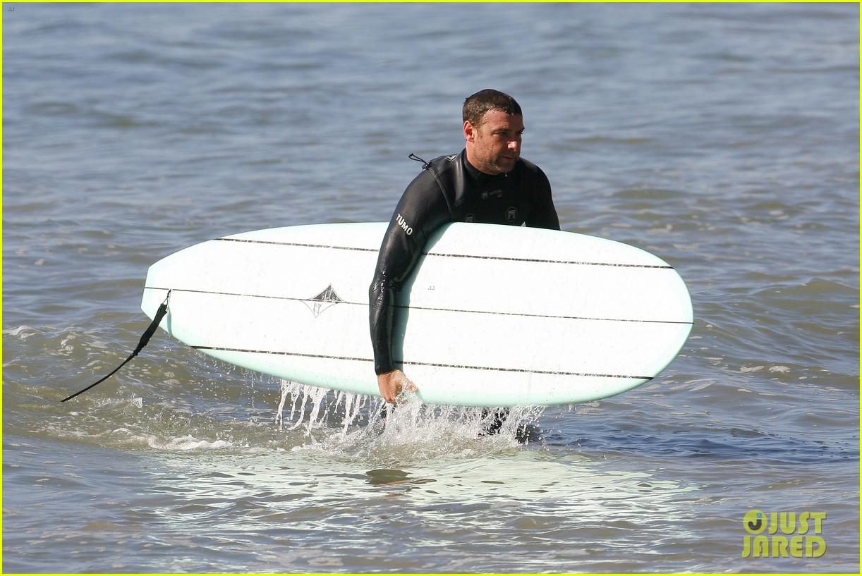 liev schreiber shirtless surfing stud 182823533