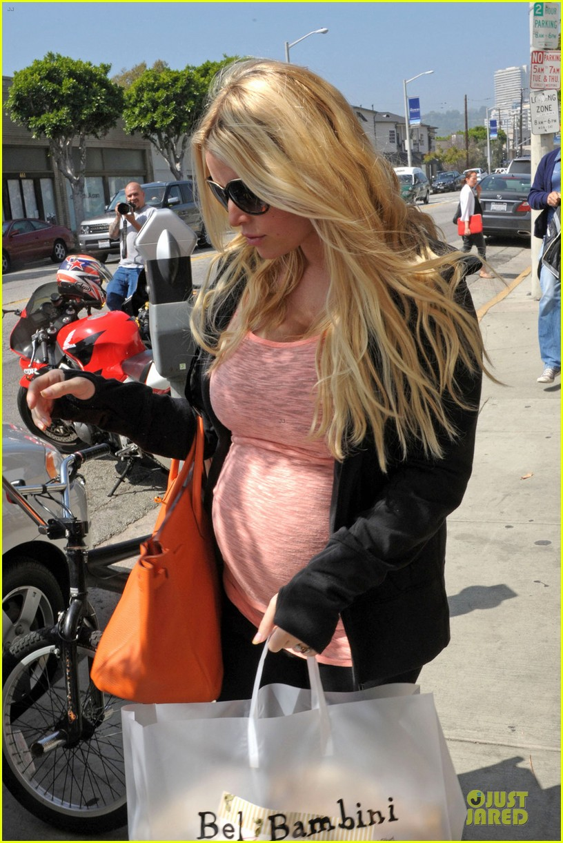 jessica simpson bel bambini baby shopping 04
