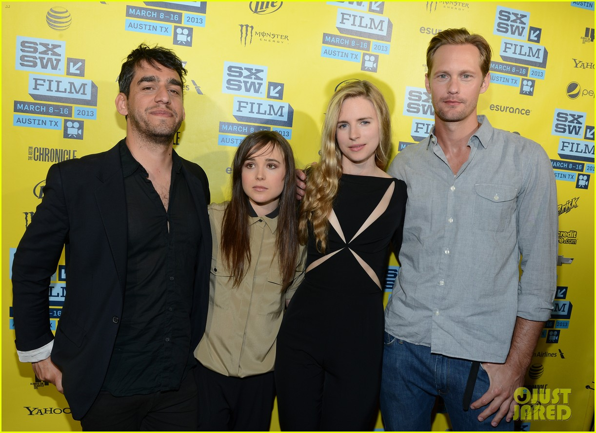 alexander skarsgard brit marling the east at sxsw 072831881