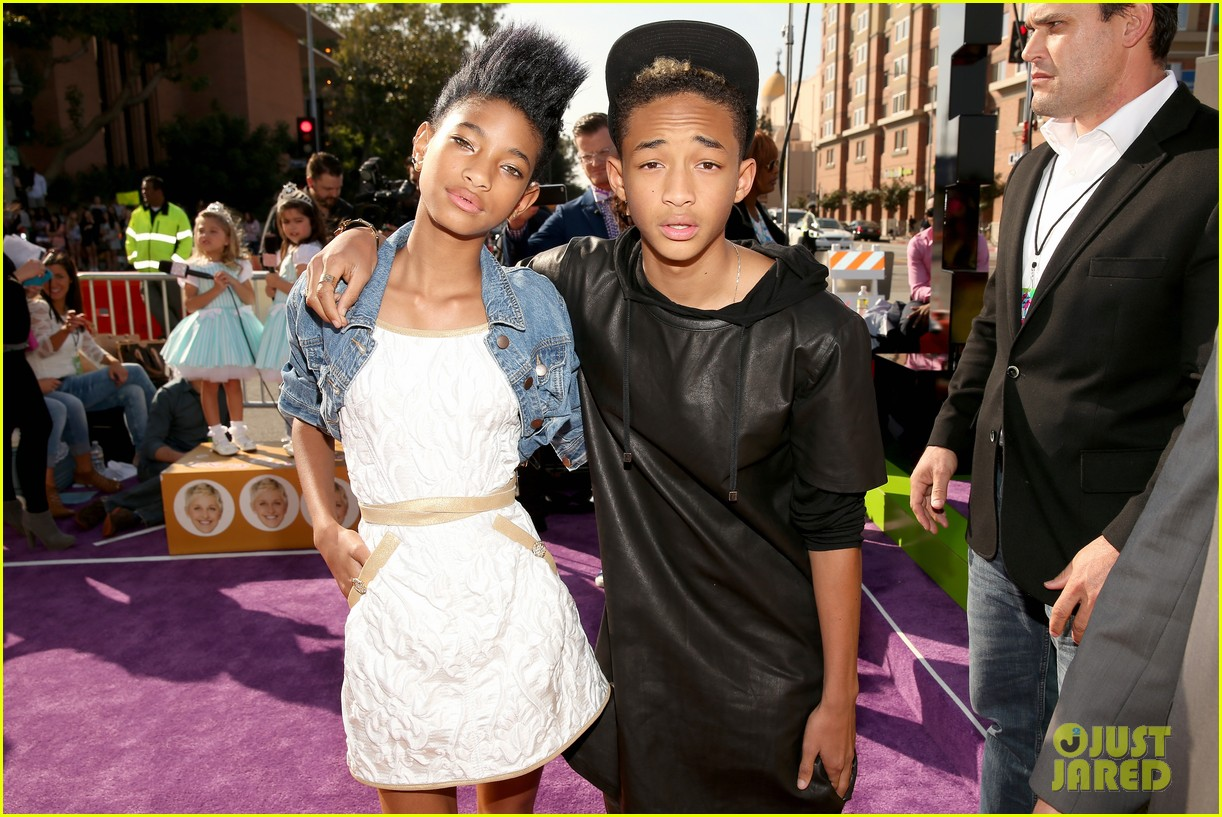 willow jaden smith kids choice awards 2013 red carpet 06