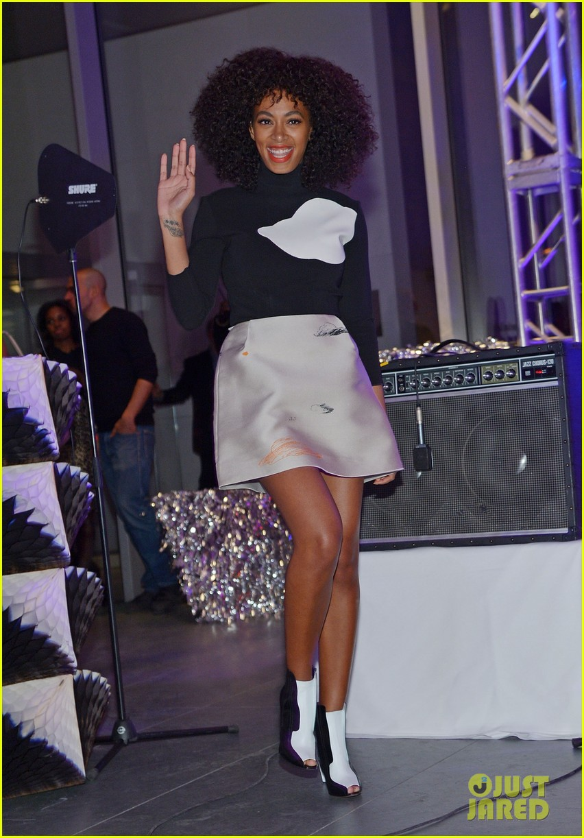 solange knowles the armory party performer 10