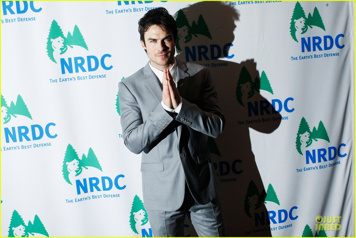 ian somerhalder national resource defense council game changer awards 022830717