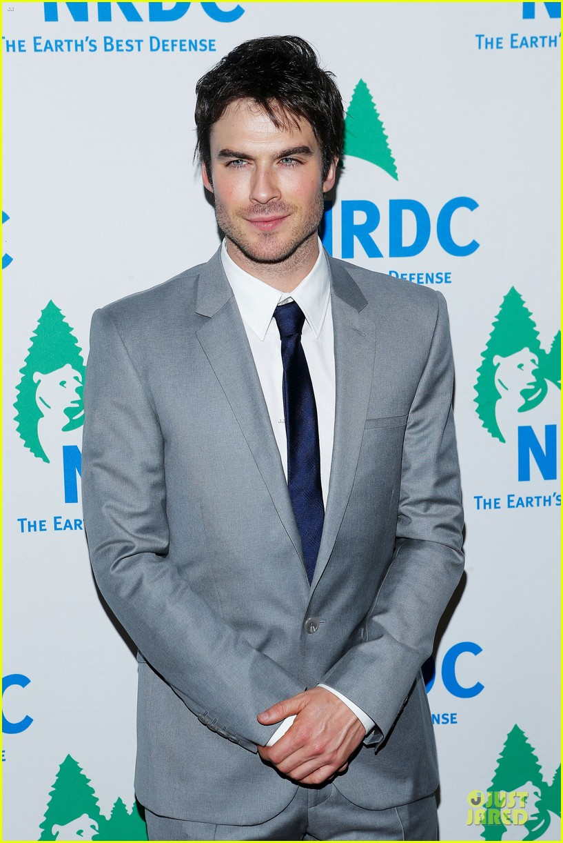 ian somerhalder national resource defense council game changer awards 07